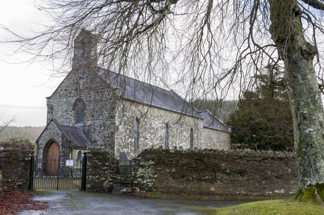 Church of St Llawddog, Llanllawddog, Carmarthenshire Llanllawddog_DSC3670B.jpg Photo © Martin Crampin