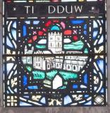 St Davids Cathedral: Christ in Majesty with St David and St Padarn