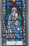 Virgin and Child: Christ in Majesty with St David and St Padarn
