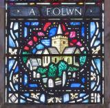 Church of St Padarn, Llanbadarn Fawr: Christ in Majesty with St David and St Padarn
