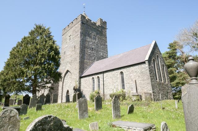 Church of St David, Llanddewi-Brefi, Ceredigion Llanddewibrefi_DSC2516A.jpg Photo © Martin Crampin