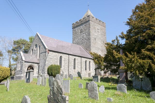 Church of St David, Llanddewi-Brefi, Ceredigion Llanddewibrefi_DSC2558A.jpg Photo © Martin Crampin