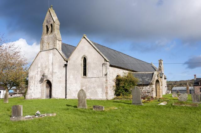 Church of St Garmon, Llanarmon-yn-Iâl, Denbighshire Llanarmon-yn-ia?l_DSC2725B.jpg Photo © Martin Crampin