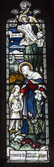 Woman with Children    detail from    The Risen Christ