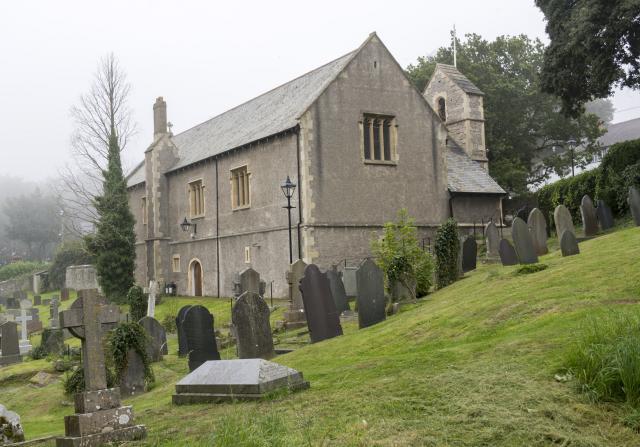 Church of St George, St George, Conwy StGeorge_DSC2603.jpg Photo © Martin Crampin