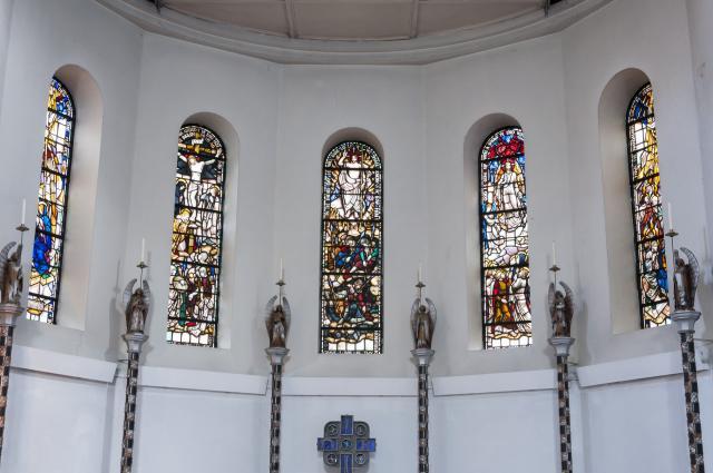 Sanctuary Apse Windows