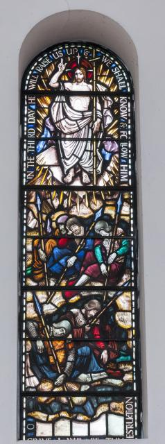 The Resurrection    from    Sanctuary Apse Windows