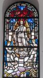 The Ascension: Sanctuary Apse Windows