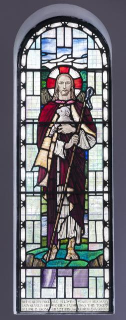 Christ the Good Shepherd    from    Lady Chapel Windows