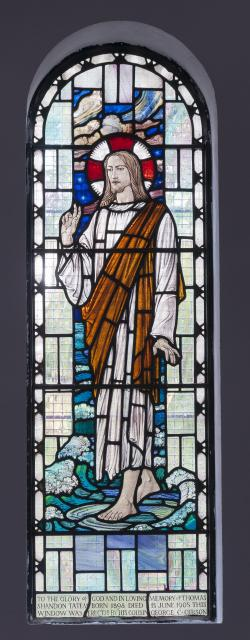 Christ Walking on the Water    from    Lady Chapel Windows