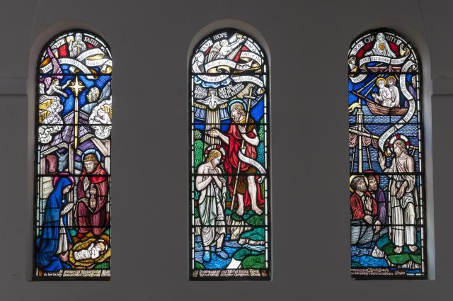 Baptistry Windows