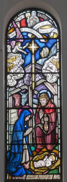 The Nativity    from    Baptistry Windows