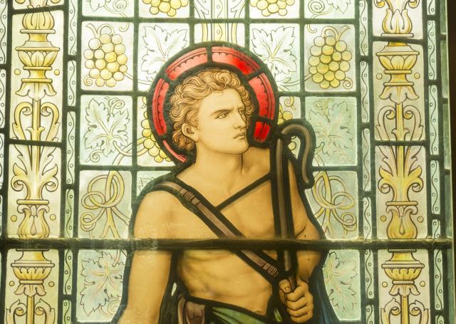 David    detail from    David and Jonathan