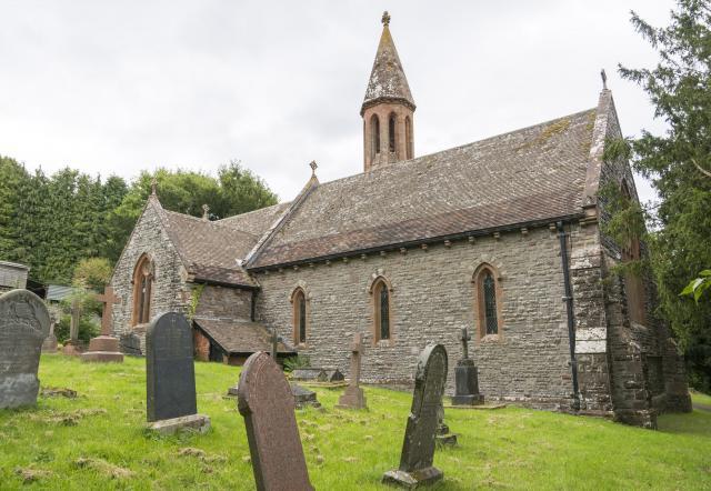 Church of St Bridget, Llansantffraed, Powys Llansantffraed_DSC6688-71A.jpg Photo © Martin Crampin