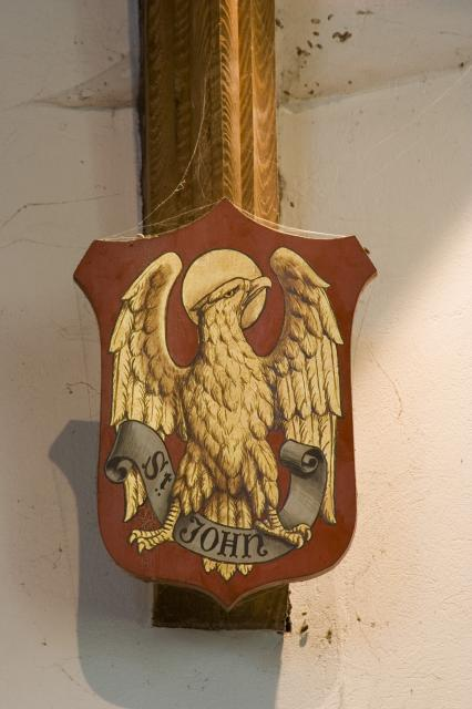 Eagle, Symbol of St John the Evangelist    from    Symbols of the Four Evangelists