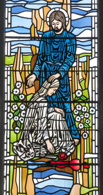 Christ Blessing a Kneeling Woman    from    Figures of Christ