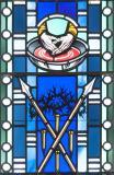Symbols of the Crucifixion: Jubilee Window