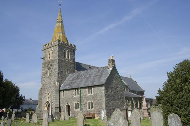 Church of St David, Llanfaes, Brecon, Powys _MG_1980.jpg Photo © Martin Crampin, Imaging the Bible in Wales