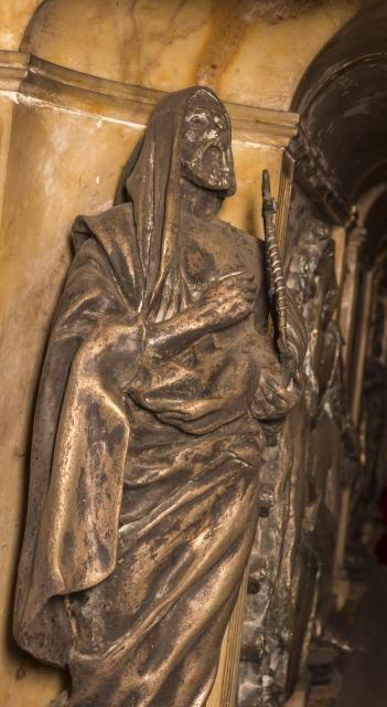 Supporting Figure    detail from    Tomb of William Ewart Gladstone and Catherine Gladstone