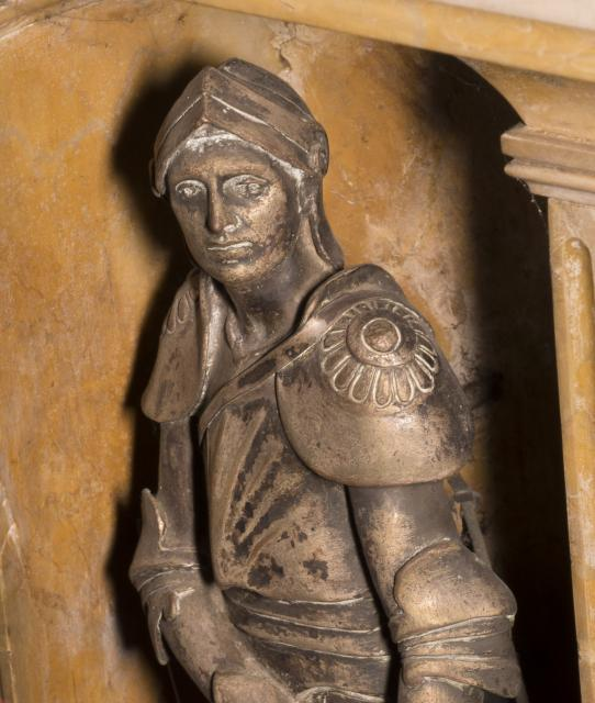 St George    detail from    Tomb of William Ewart Gladstone and Catherine Gladstone