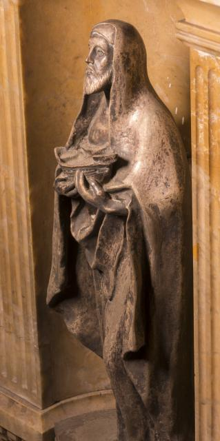 St Patrick    detail from    Tomb of William Ewart Gladstone and Catherine Gladstone