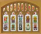 The Symbols of the Four Evangelists and Symbols of Saints