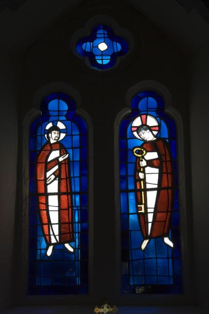 Christ and St Peter