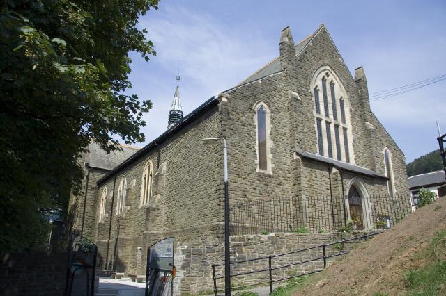 Church of St Michael, Abertillery, Blaenau Gwent _MG_2207.jpg Photo © Martin Crampin, Imaging the Bible in Wales