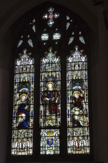 St Stephen with St Paul and St John the Evangelist