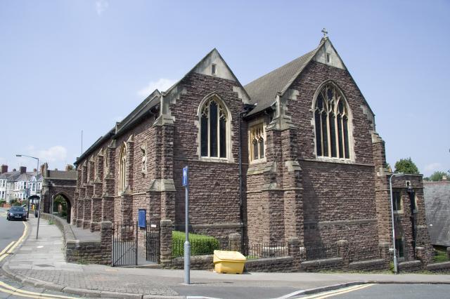Church of St John the Baptist, Newport _MG_2156.jpg Photo © Martin Crampin, Imaging the Bible in Wales