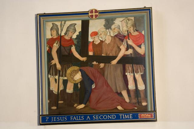 Jesus Falls a Second Time    from    Stations of the Cross