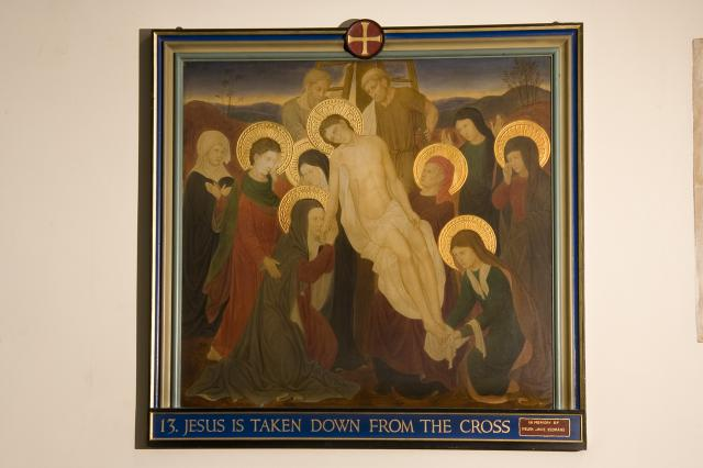 Jesus is Taken Down from the Cross    from    Stations of the Cross