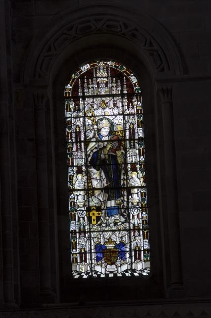 St David    from    The Risen Christ with St David and St George