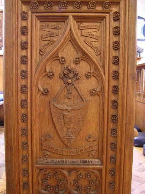 'Llanllwni's' Lost Chalice