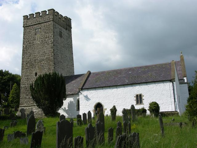 Church of St Gwenog, Llanwenog, Ceredigion DSCN5814.jpg Photo © Martin Crampin, Imaging the Bible in Wales