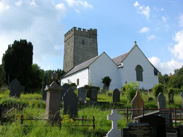Church of St Gwenog, Llanwenog, Ceredigion DSCN5822.jpg Photo © Martin Crampin, Imaging the Bible in Wales