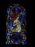 Winged Man, Symbol of St Matthew: The Dove of the Holy Spirit and the Symbols of the Four Evangelists