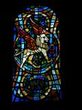 Winged Lion, Symbol of St Mark: The Dove of the Holy Spirit and the Symbols of the Four Evangelists
