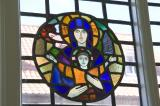 Virgin and Child: Virgin and Child and St Benedict