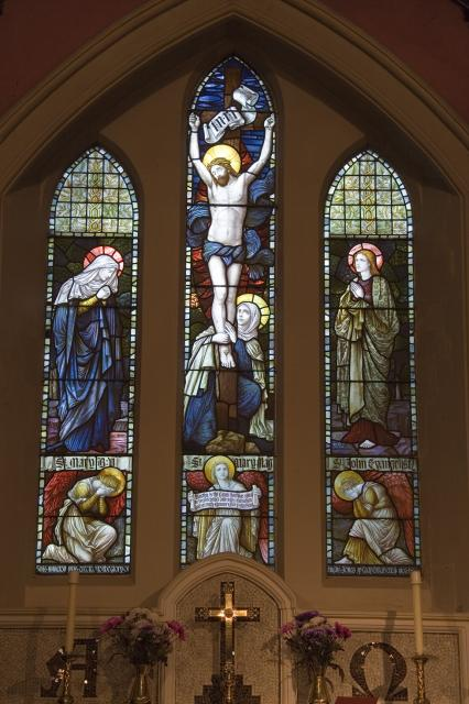 Crucifixion with Mary, John and Mary Magdalene
