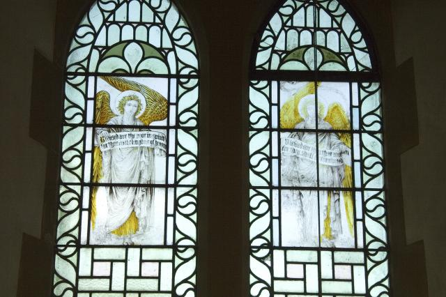 Angels Holding the Beatitudes