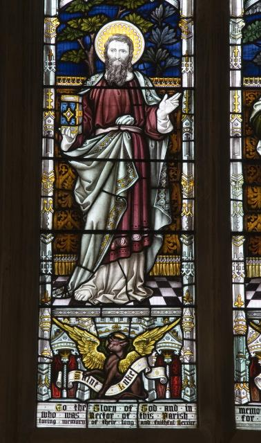 St Luke the Evangelist    detail from    The Four Evangelists