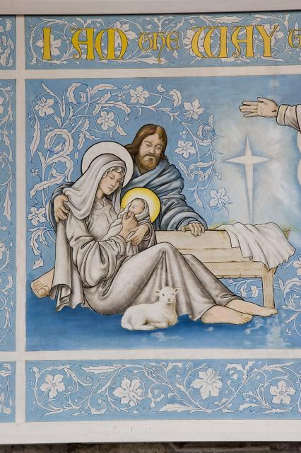 The Nativity    detail from   I am the Way the Truth and the Life