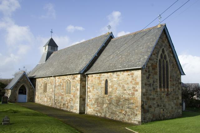 Church of St Brynach, Dinas Cross, Pembrokeshire _MG_3374.jpg Photo © Martin Crampin, Imaging the Bible in Wales