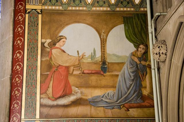 The Annunciation    from    Scenes from the Life of Christ