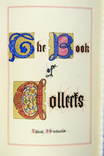 Frontispiece    from    Iluminations from <em>The Book of Collects</em>