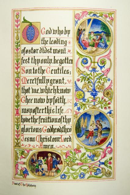 Scenes from the Life of Christ    from    Iluminations from <em>The Book of Collects</em>