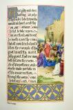 The Triumphal Entry into Jerusalem    from    Iluminations from <em>The Book of Collects</em>