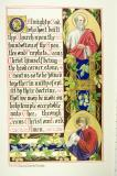 The Apostles St Simon and St Jude    from    Iluminations from <em>The Book of Collects</em>