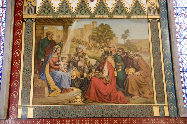 The Adoration of the Magi    from    Scenes from the Life of Christ